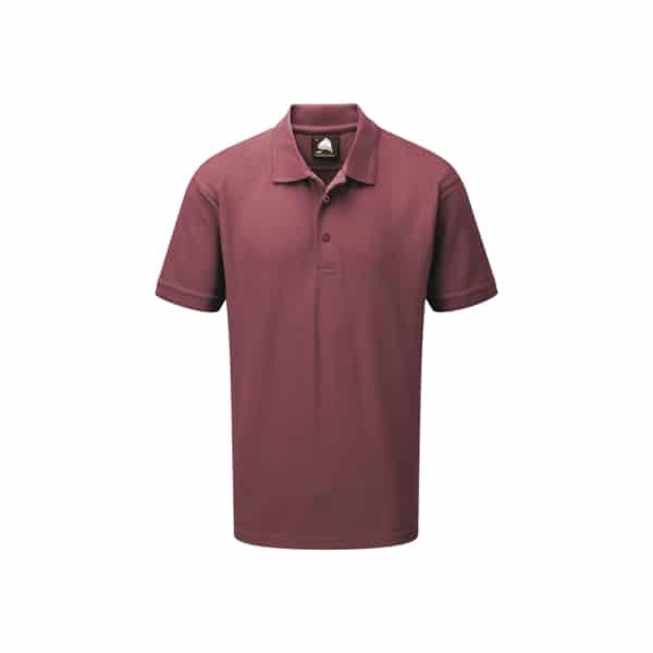 Eagle Premium Poloshirt_ Burgundy