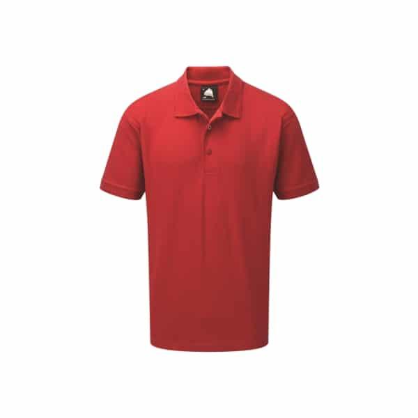 Eagle Premium Poloshirt_ Red