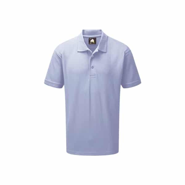 Eagle Premium Poloshirt_ Sky Blue