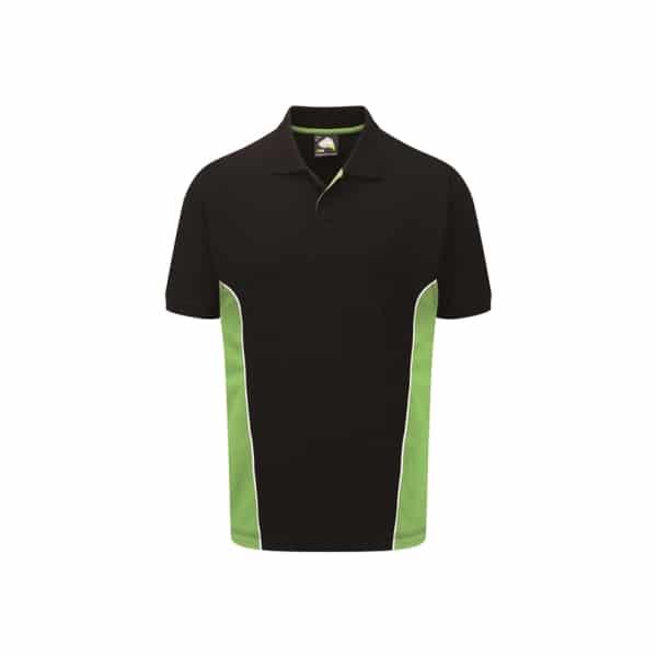Silverstone Poloshirt_ Black-Lime