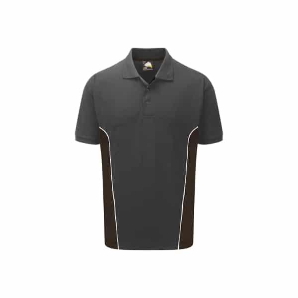 Silverstone Poloshirt_ Graphite-Black