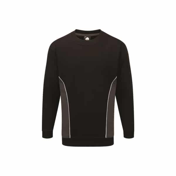 Silverstone Premium Sweatshirt_ Black-Graphite