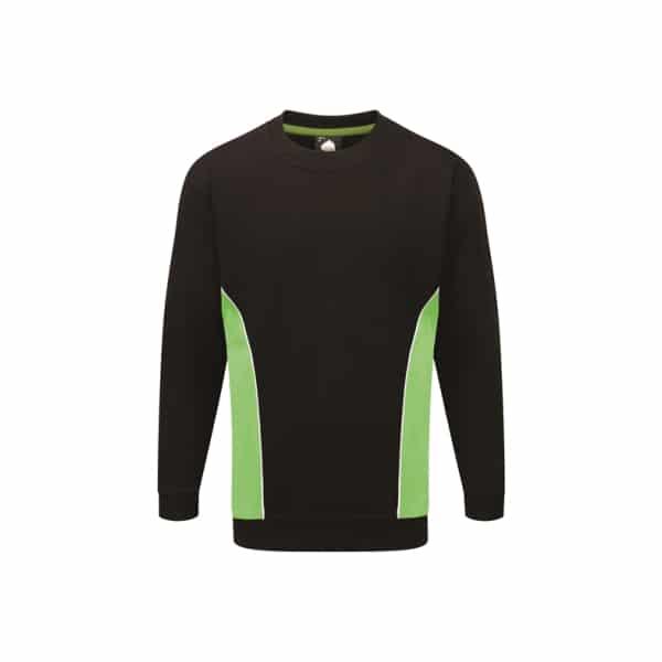 Silverstone Premium Sweatshirt_ Black-Lime