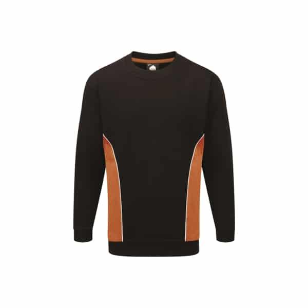 Silverstone Premium Sweatshirt_ Black-Orange