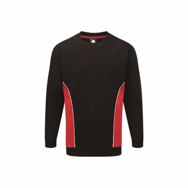 Silverstone Premium Sweatshirt_ Black-Red