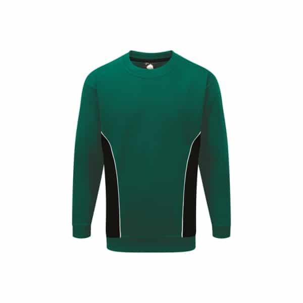Silverstone Premium Sweatshirt_ Bottle-Black
