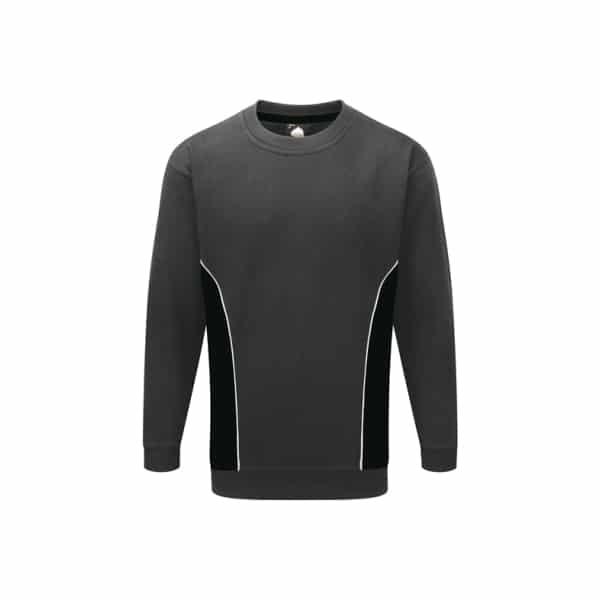 Silverstone Premium Sweatshirt_ Graphite-Black