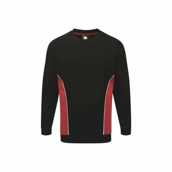 Silverstone Premium Sweatshirt_ Navy-Red