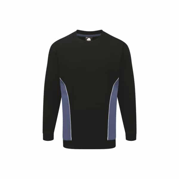 Silverstone Premium Sweatshirt_ Navy-Royal Blue