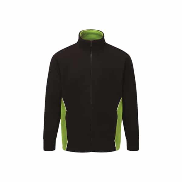 Silverstone Premium Fleece_ Black-Lime