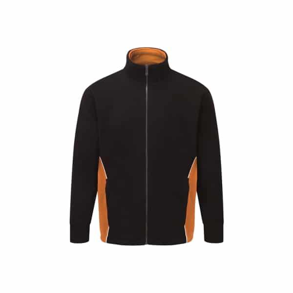 Silverstone Premium Fleece_ Black-Orange