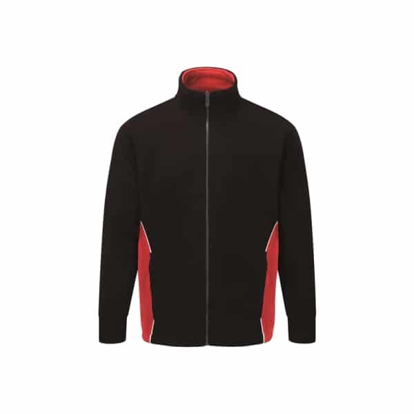 Silverstone Premium Fleece_ Black-Red