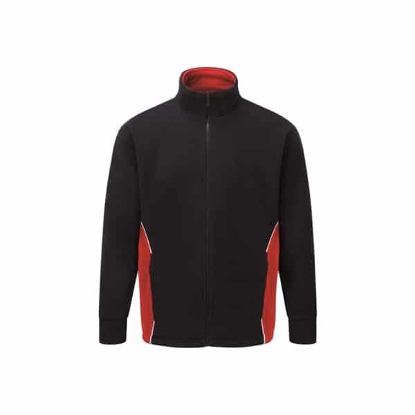 Silverstone Premium Fleece_ Navy-Red