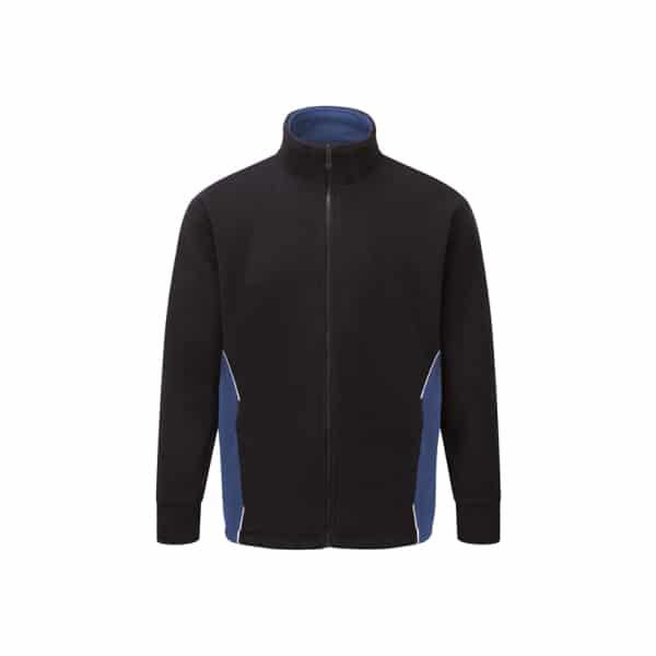 Silverstone Premium Fleece_ Navy-Royal Blue