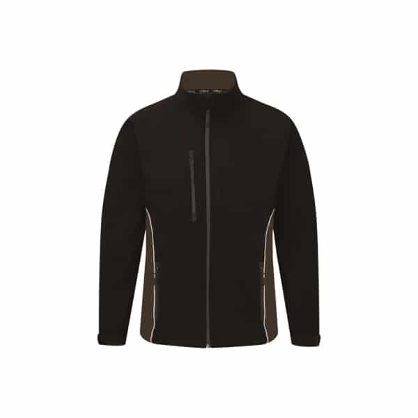 Silverstone Softshell Jacket_ Black-Graphite