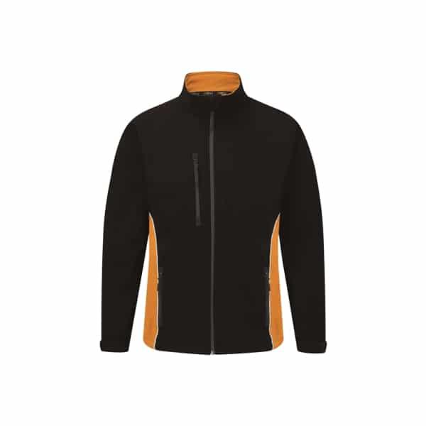 Silverstone Softshell Jacket_ Black-Orange