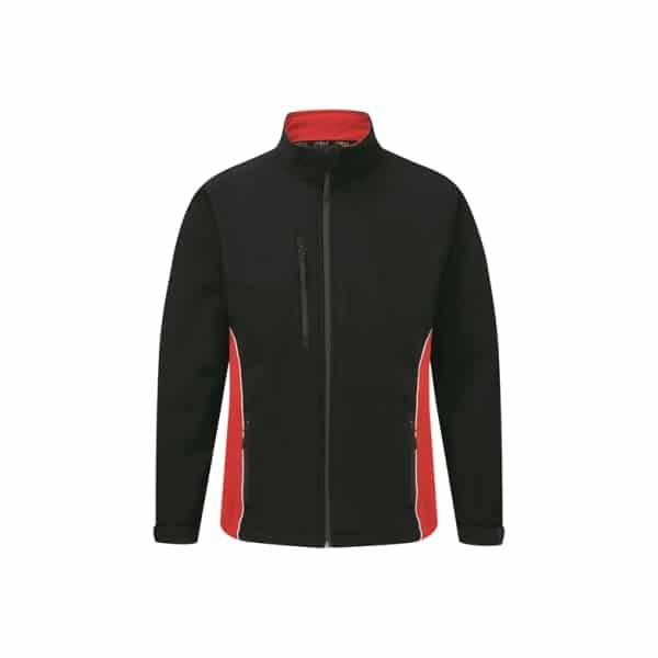 Silverstone Softshell Jacket_ Navy-Red