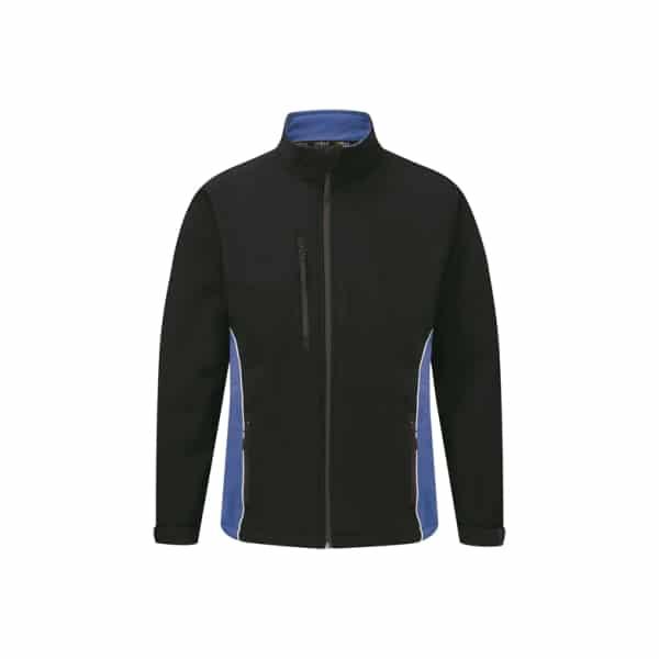 Silverstone Softshell Jacket_ Navy-Royal Blue