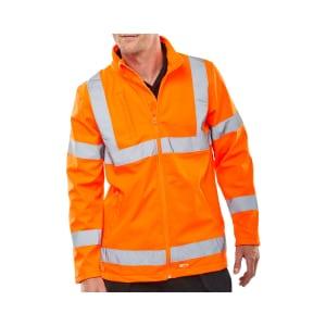 Bseen Hi Vis Softshell Jacket