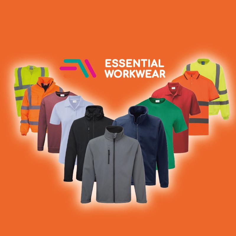 essential workwear range