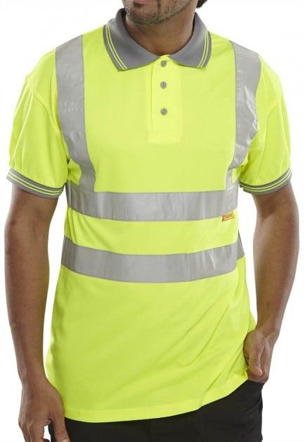 Bseen Hi Vis Polo Shirt