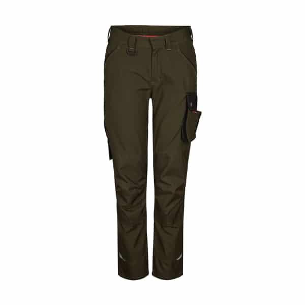Engel Galaxy Work Trouser - Ladies Fit - Forrest Green/Black