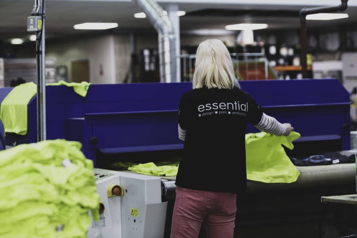 preparing workwear order hi-vis